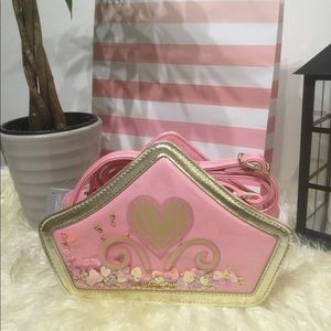 Disney Store Princess Crown Crossbody Bag